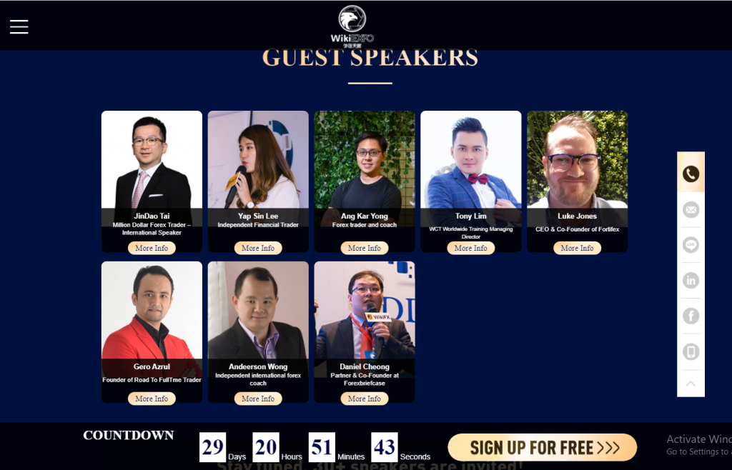 Speakers List